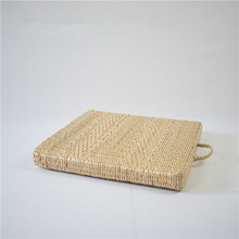 Portable Grass Square Large Floor Cushions Japanese Futon Meditation Cushion Tatami Thickening Seat Mat