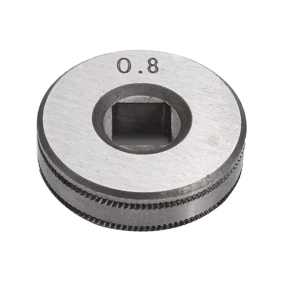 0.8 spawacze stalowe wałek napędowy do podawania drutu części rolkowe Kunrled-Groove. 023