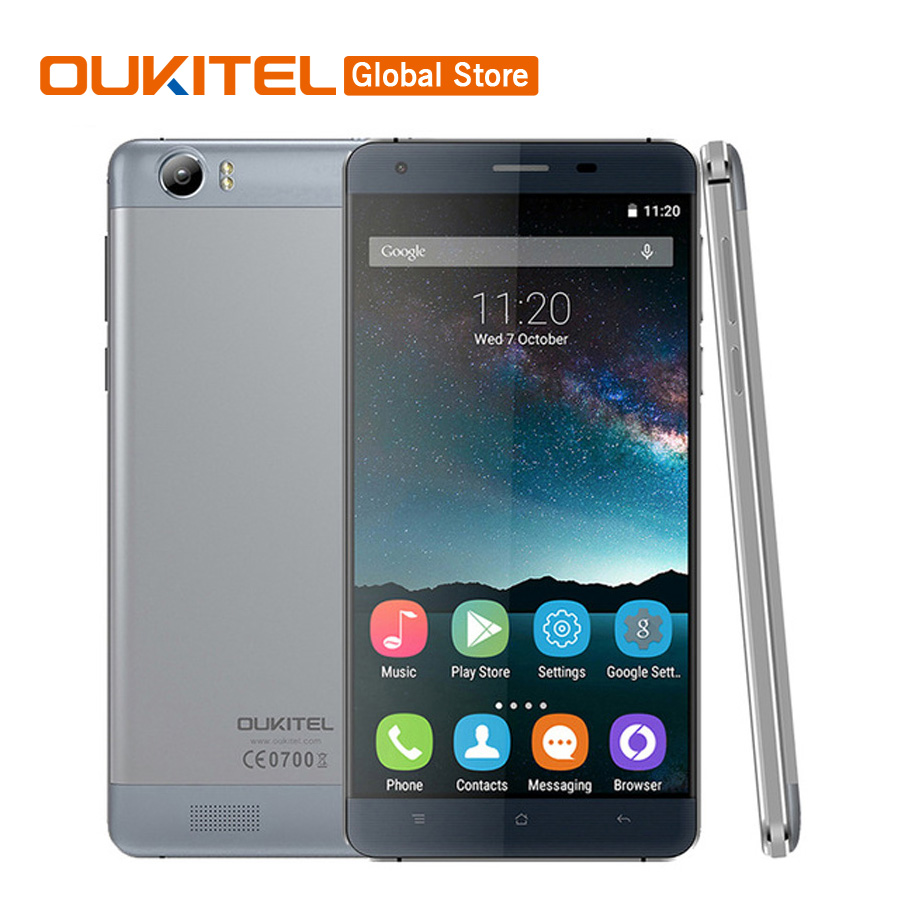 Original Oukitel K6000 4G LTE Mobile Phone MTK6735P Quad Core 1 0GHz Android 5 1 5