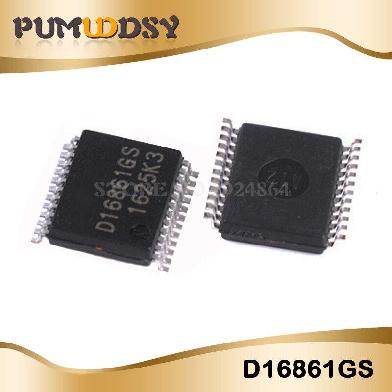2CPS/LOT D16861GS D16861 16861GS 16861 SSOP24 IC