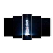 Landscape Framed Pictures DIY Painting Wall Art Painting On Canvas and Painted Home Decor Interstellar Stars Milky Way Cairnsi
