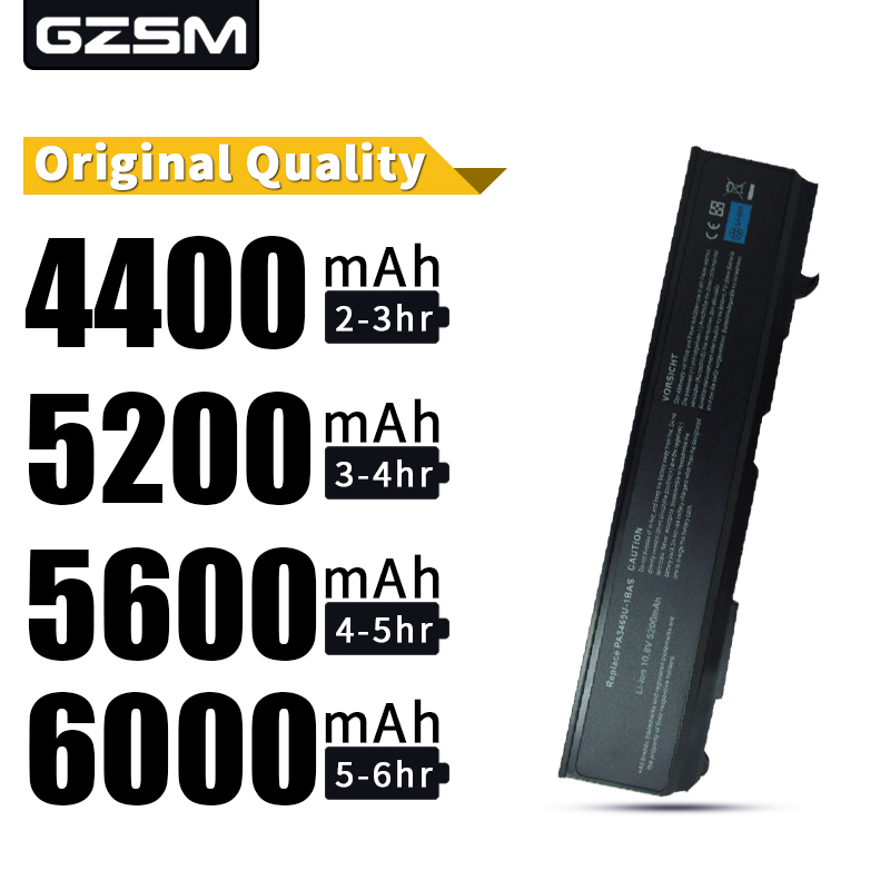 HSW  Laptop Battery For Toshiba Satellite M50 M70 A100 PA3465U-1BAS  Laptop Battery PA3465U-1BRS PABAS069 PA3465U PA3465 Battery