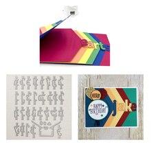 Naifumodo ABC Alphabet Variant Die Letter Metal Cutting Craft Dies New 2019 Scrapbooking for Card Making Album DIY Decor Diecut