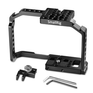 Image 3 - SmallRig G7 Cage for Panasonic Lumix DMC G7 Camera Cage with HDMI Cable Clamp+Cold Shoe+Mount Nato Rail    1779
