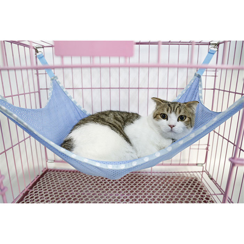2016 cat bed mat summer ventilation   cloth pet cages hammock under the chair cage kitty swing bed on sale in cat beds  u0026 mats from home  u0026 garden on     2016 cat bed mat summer ventilation   cloth pet cages hammock      rh   aliexpress