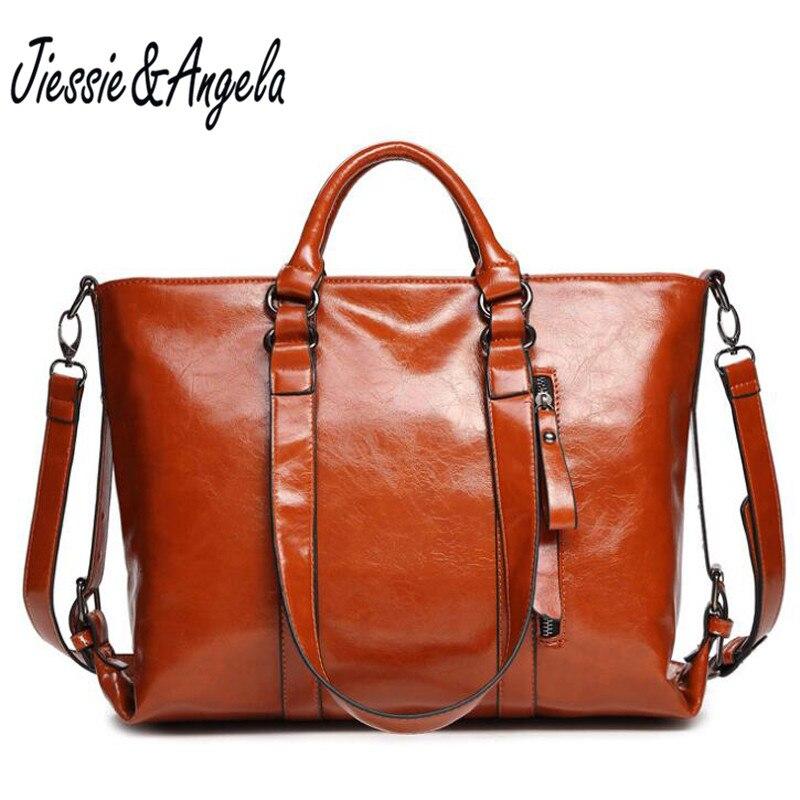 Jiessie & Angela Famous Brands Women Bags Designer Handbags High Quality Shoulder Messenger Big Casual Tote Purse dali spektor 2 black ash