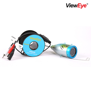 Image 4 - ViewEye Single Underwater Fishing Camera Accessories For 7 inch Fish Finder 12 LED IR Infrared Lamp Or Bright White LED