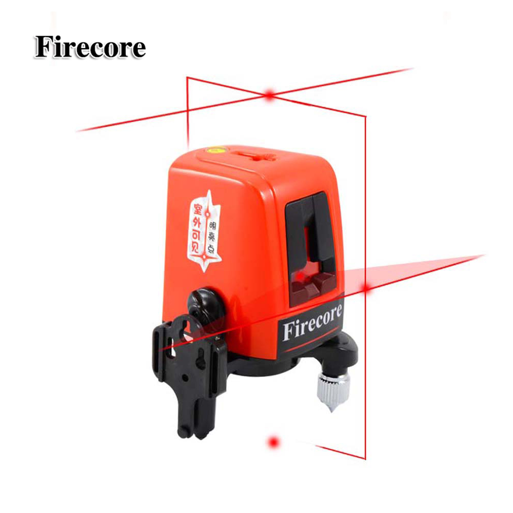 Firecore A8827D laser level 3 lines 3 point horizontal and vertical red beam laser line WAL12