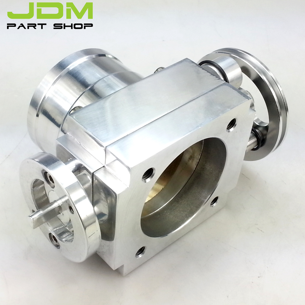 Universal car parts siliver color 65MM Aluminum Throttle Body-in ...
