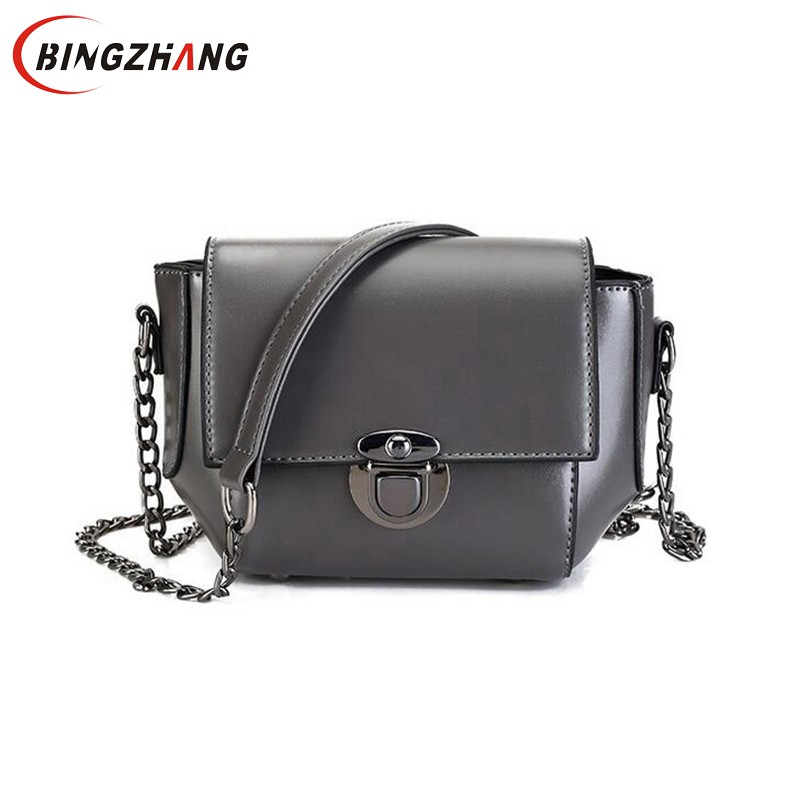 brand 2018 new women vintage casual PU leather small packages female bag ladies shoulder messenger crossbody bags L4-3029