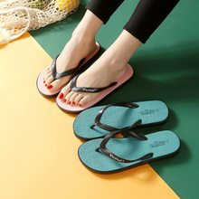 New fashion women summer slippers flip flops women sandals beach shoes(China)