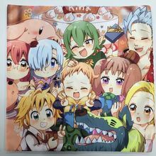 The Seven Deadly Sins  Pillow Cushion Case