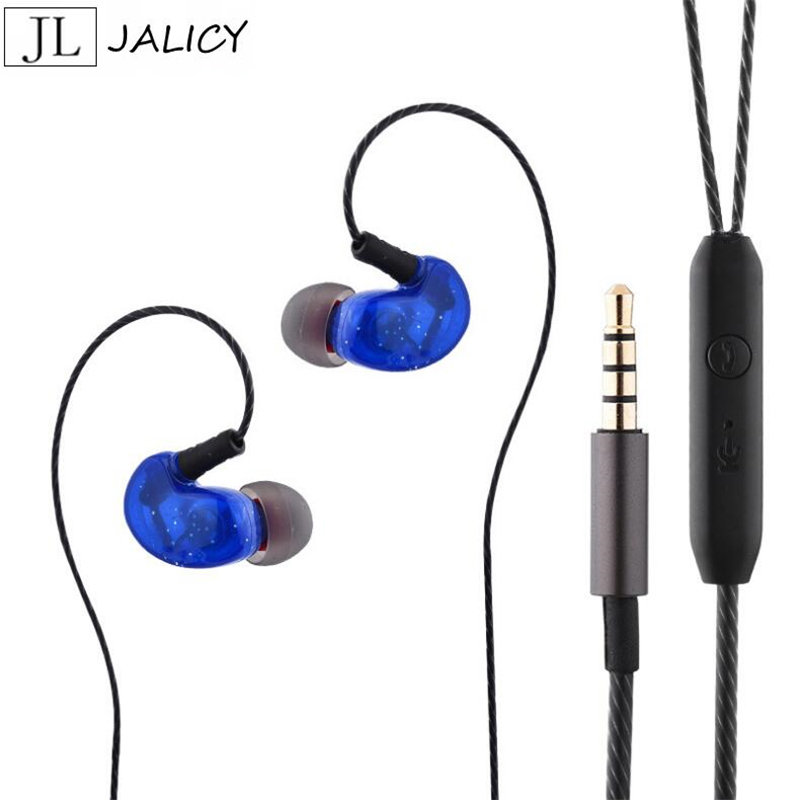 JALICY In-Ear Earphones Headset Stereo With Mic Earphone For iPhone  xiaomi Meizu Mobile Phone MP3 MP4 Earbuds сковорода нева металл скандинавия