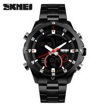 SKMEI 1146 Mode Montre Étanche Hommes De Luxe Automatique Montre-Bracelet D'affaires Datejust Top Qualité Militaire Horloge Chronographe