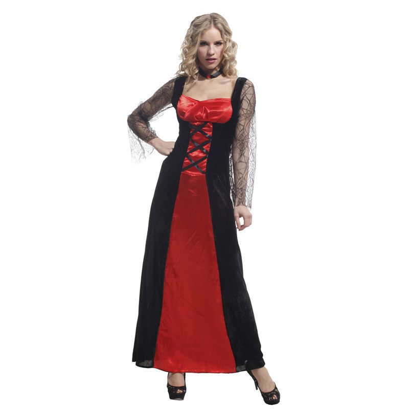 Christmas Carnival halloween costumes for women plus size sexy adult  Masquerade Party Fancy Dress Cosplay scary witch vampire-in Boys Costumes  from Novelty ... 8776222aa25e