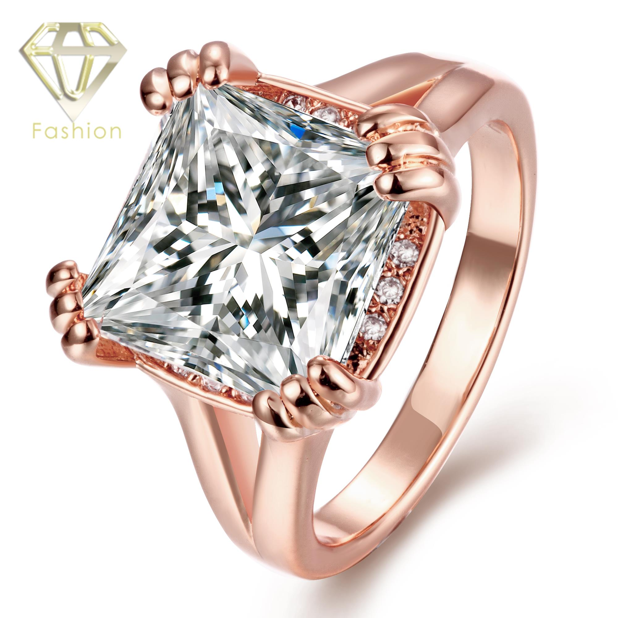 zirconia jewellery ring cut swarovski center sterling white asscher solid cz fashion bands nana or silver in yg engagement gold rings