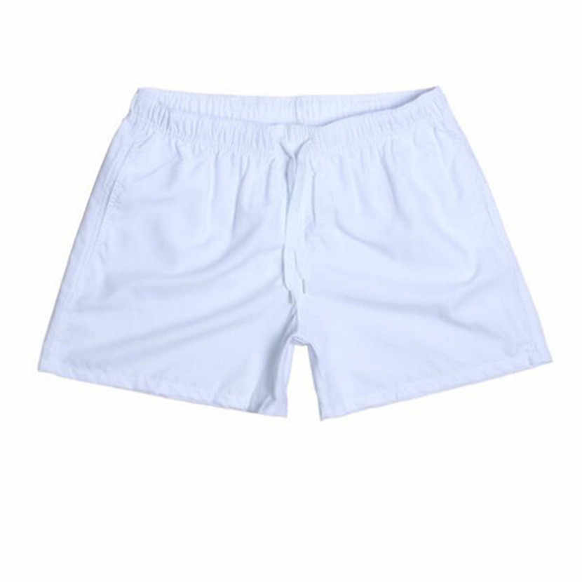 Hot Swimsuits Quick Drying Summer Mens Fashion Beach Shorts Candy Colors Brand Printed Boardshort Bermuda Masculina S-XXXL