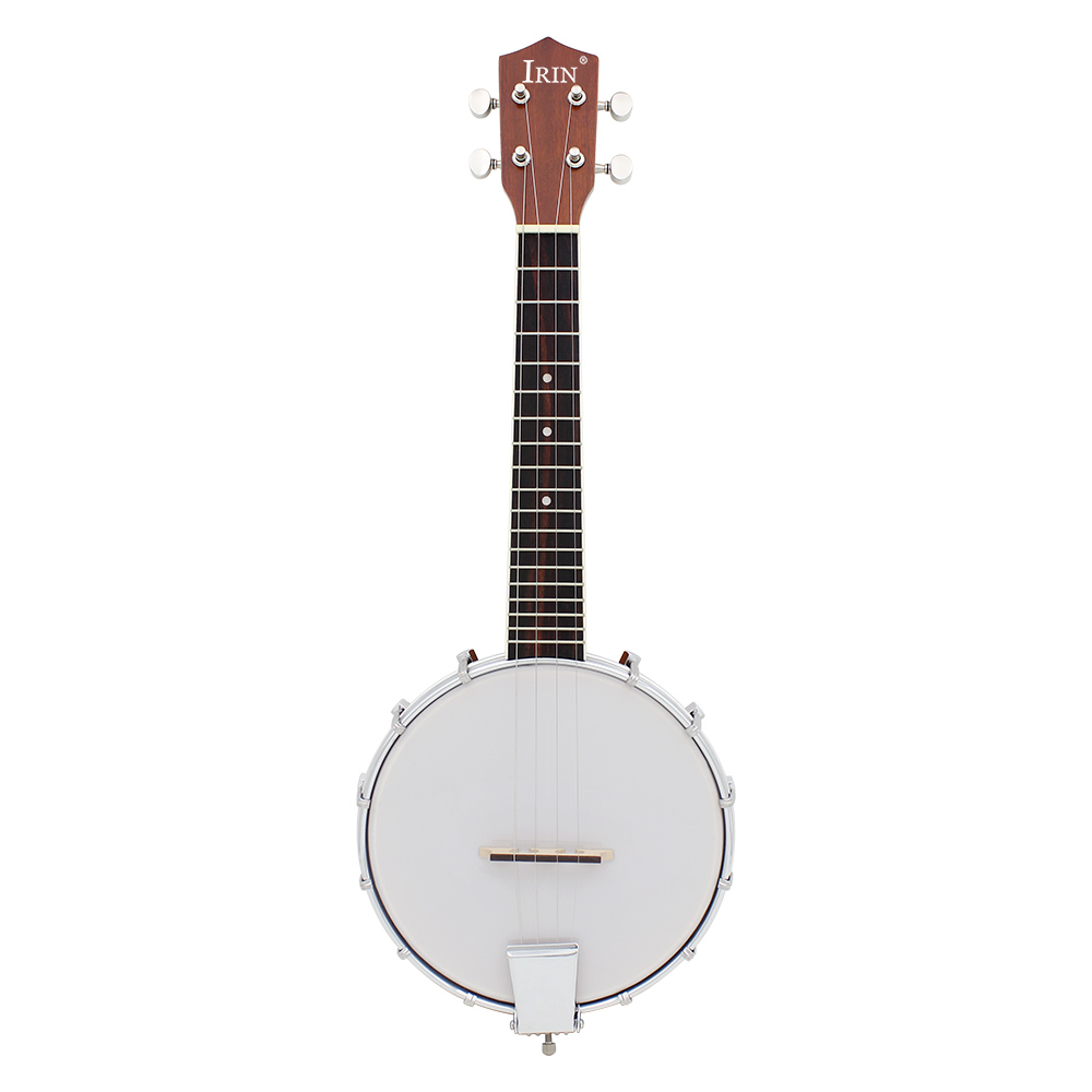 IRIN 23 Inch Sapele Nylon 4 Strings Concert Banjo Uke Ukulele Bass Guitar Guitarra For Musical Stringed Instruments