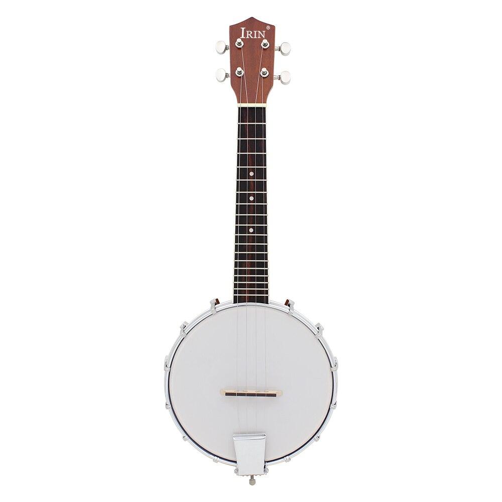 IRIN 23 pouces Sapele Nylon 4 cordes Concert Banjo Uke ukulélé guitare basse Guitarra pour Instruments à cordes musicales
