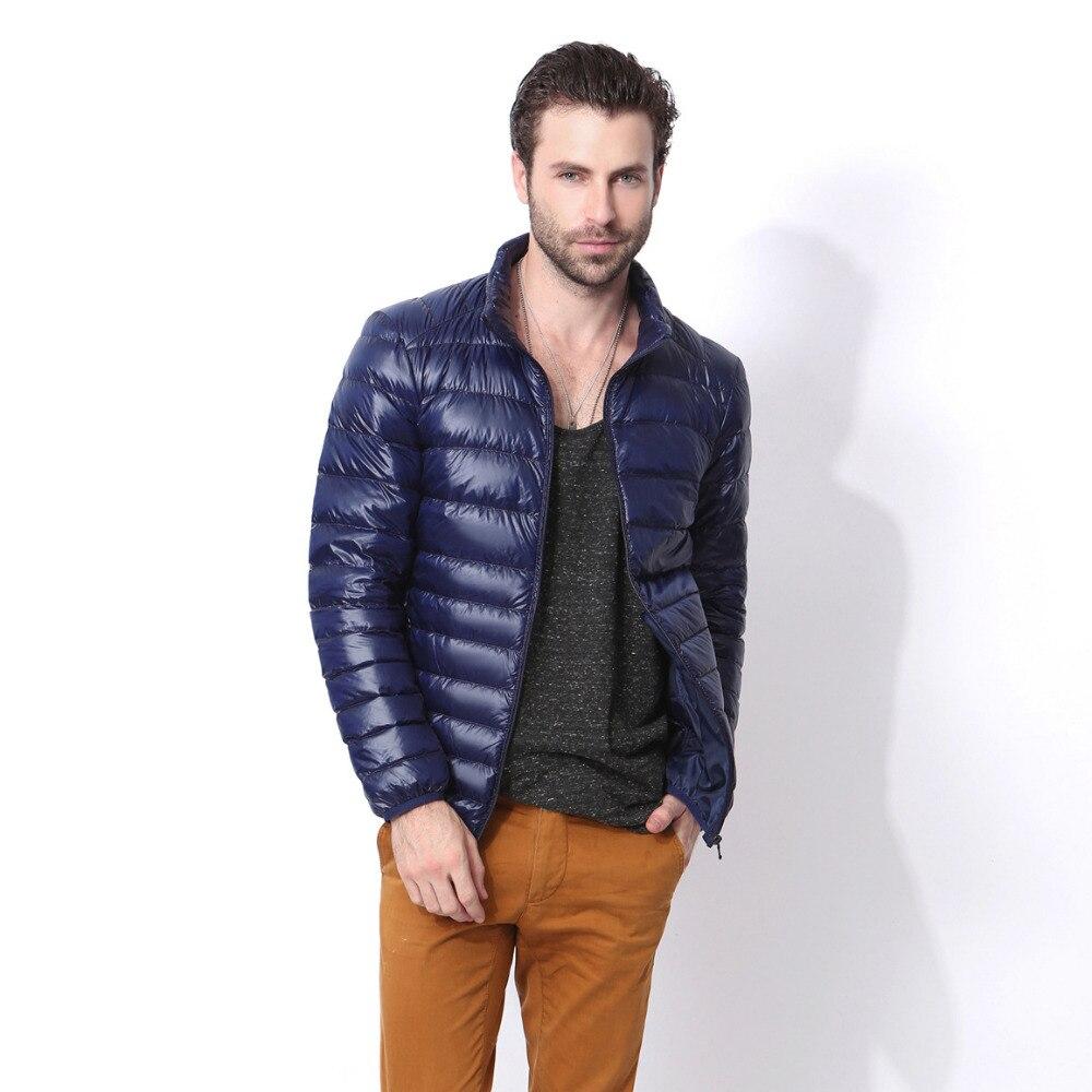 2018 Новый Дизайн осень-зима Для мужчин Подпушка куртка Для мужчин Повседневное пальто мода Водонепроницаемый легкая куртка Для мужчин
