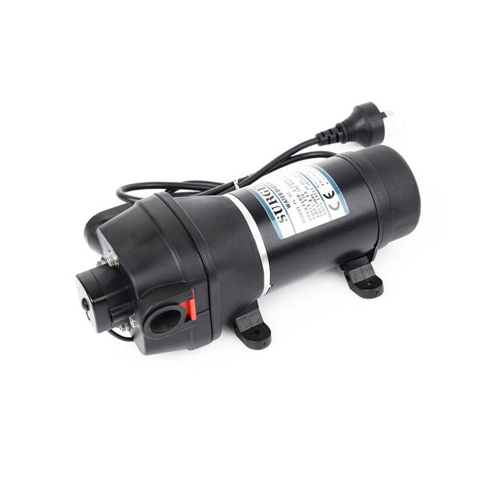 Pompe à diaphragme auto-suceuse domestique 110 V Micro pompe à courant alternatif pompe à courant alternatif automatique