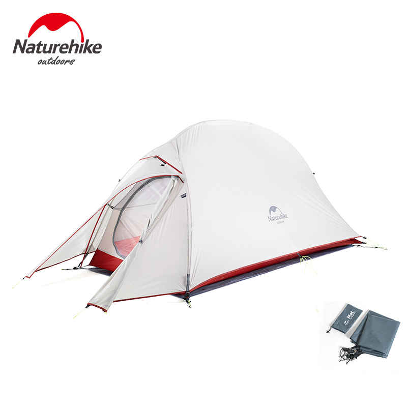 Naturehike Ultralight Tent 1 2 3 Person 20D Nylon Silicon Double Layer Waterproof Winter Camping Tent For Tourism Outdoor Naturehike Ultralight Tent 1 2 3 Person 20D Nylon Silicon Double Layer Waterproof Winter Camping Tent For Tourism Outdoor