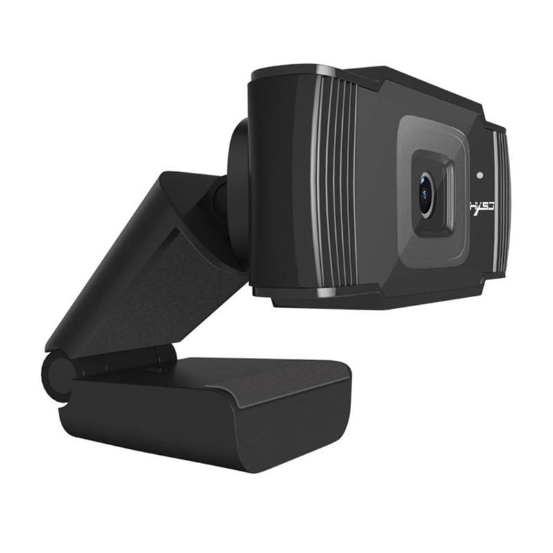 Full HD 1080 P Webcam pour Smart TV Box ordinateurs de bureau ordinateurs portables Auto Focus ordinateur Web caméra USB Plug And Play Driveless Web Cam - 5