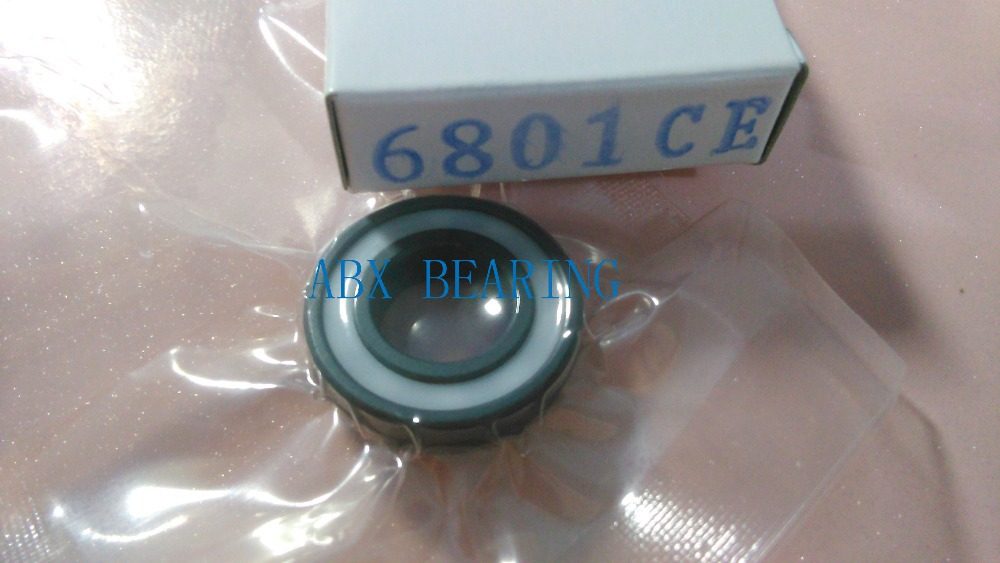 6801 2RS full SI3N4 ceramic deep groove ball bearing 12x21x5mm with seals 61801 2RS bearing 6801 2rs p5 abec5 full zro2 ceramic deep groove ball bearing 12x21x5mm with seals 61801 2rs bearing 6801 2rs