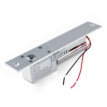 Access Control Electric Magnetic Door Lock 180KG 12V 2 wire low temperature Electric Lock Holding Force High Quality