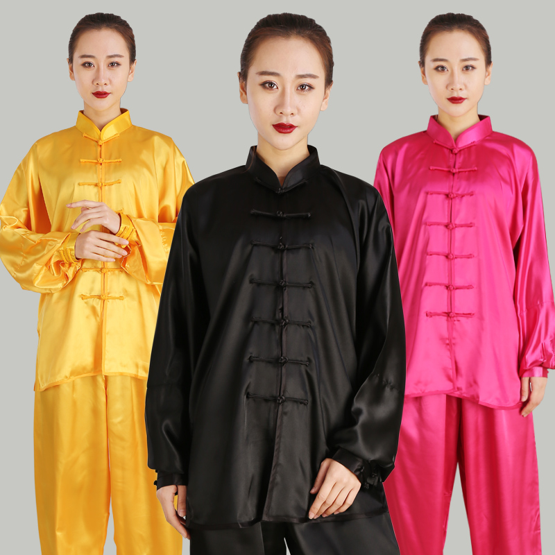 Unisex Cotton Blend Kung Fu Tai Chi Uniform Martial Arts Wear