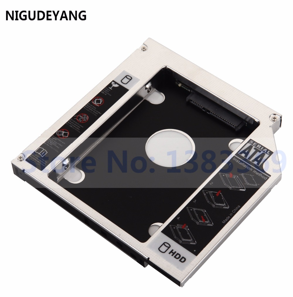 9.5MM 2nd Hard Drive HDD SSD Caddy For Asus R510 R510C R510E R510L R510JK
