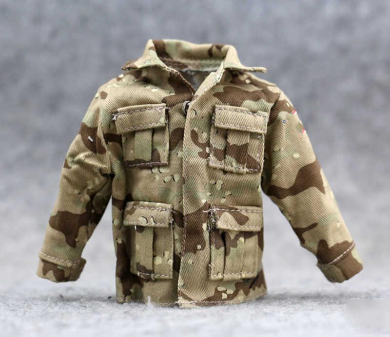 """1:6 масштаб армия, солдатики нам армейский пустынный сабля Кувейт Военная Маскировочная аксессуары для униформы песчаные Fit 12 """"куклы Солдат Рисунок"""