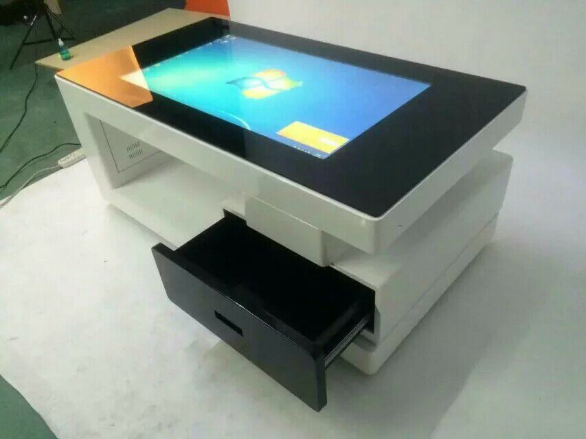 42 47 55 inch multi touch interactive lcd stand digital signage interactive all in one multi touch screen coffee table
