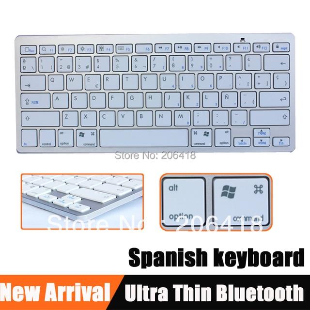 Wireless bluetooth keyboard spanish letter keybobord phone cell wireless bluetooth keyboard spanish letter keybobord phone cell tablet keyboard for ipad 1 ipad2 ipad3 ipad4 spiritdancerdesigns Images