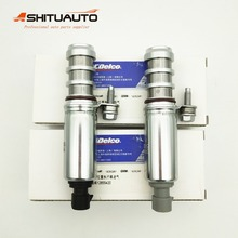 AC Intake & Exhaust Oil Control Timing Valve Solenoid VVT For GMC Saturn Chevrolet Buick OEM# 12655420 12655421