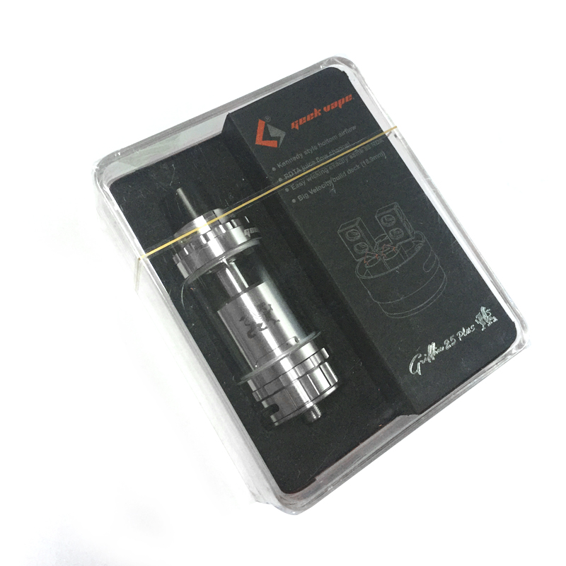100% Original E-cig Atomizer GeekVape Griffin 25 Plus RTA Tank 5ml Capacity RDTA Juice Flow Top  & Bottom Airflow Adjustable YY палатка atemi seliger 4 cx