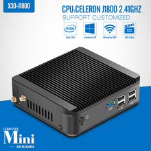 Mini pc J1800 N2830 N2840 dual core 8G RAM 500G HDD +WIFI HDMI+VGA mini pc windows desktop computer support Windows 7/8/10/linux