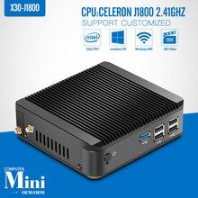 Mini pc J1800 N2830 N28402.16GHZ dual core 8G RAM 500G HDD + WIFI + HDMI + VGA mini pc windows soporte informático de escritorio de Windows 7/8/10/linux