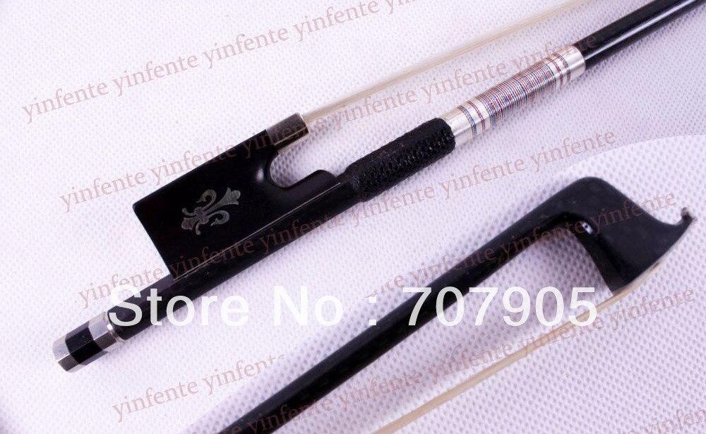 1x New Violin Bow High quality Carbon Fiber Silver Color Bow string1x New Violin Bow High quality Carbon Fiber Silver Color Bow string
