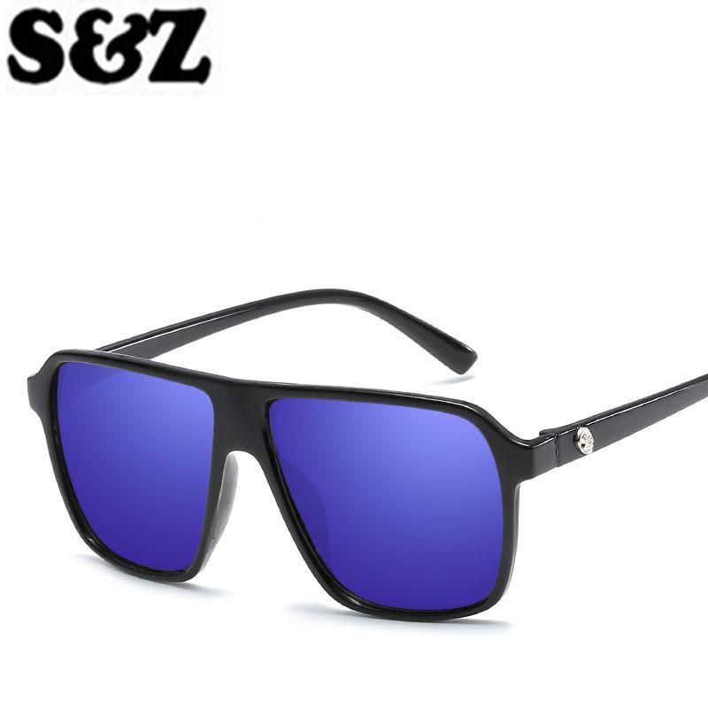 d64911c31 جديد وصول 2018 النساء أزياء مربع نظارات شمسية ماركة مصمم ريترو كلاسيكي نمط  الشمس الإناث خمر