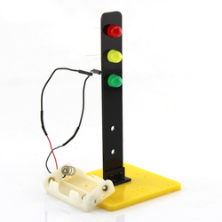 Feichao traffic lights technology production invention signals traffic lights diy science model toys education kit f19160.jpg 250x250