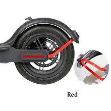 حامل دعامة واقيات الطين للحاجز الخلفي من شاومي Mijia M365 ملحقات الدراجة الكهربائية واقي من الأجزاء الخلفية لكابل الإضاءة
