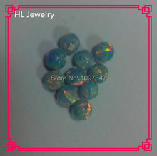 100PCS/Lot  light gree Color/ Azure Blue/ Angel Skin/ Snow White 3MM  Synthetic Fire Opal Bead