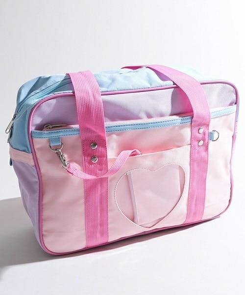 2 Maneras Sailor Moon Lolita Bowknot Bolso Mochila Packbag  Estilo Preppy Mensaje Hombro Estudiantes Cosplay Mujeres Chica #5