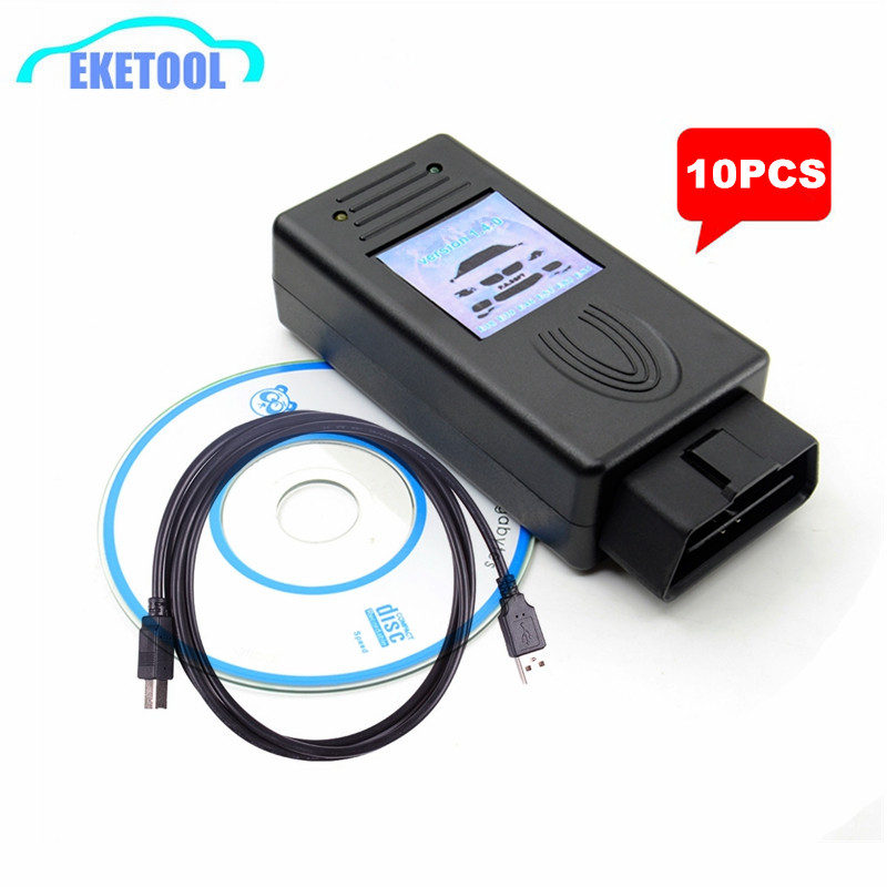 10PCS/LOT EXPRESS OBD OBDII Diagnostic Scanner For BMW 1.4.0 Auto Scanner Multi Function Fits BMW SCANNER V1.4.0 FTDI FT232RL-in Car Diagnostic Cables & Connectors from Automobiles & Motorcycles on