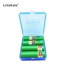 Original para Samsung Baterias de Lítio 4 Pcs Liitokala 18650 2500 Mah 25r Inr18650 Bateria de Descarga 20a