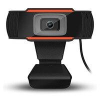 BASIX USB Web Cam 640*480 Ad Alta Definizione Videocamera Web Built-In Video con IL MIC Clip-on Webcam per Skype Computer