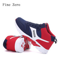 Fine Zero 2017 Spring Autumn New Brand Luxury Comfortable Men's Running Shoes Sneakers Shoes Breathable Mesh Lace-up Man Shoes