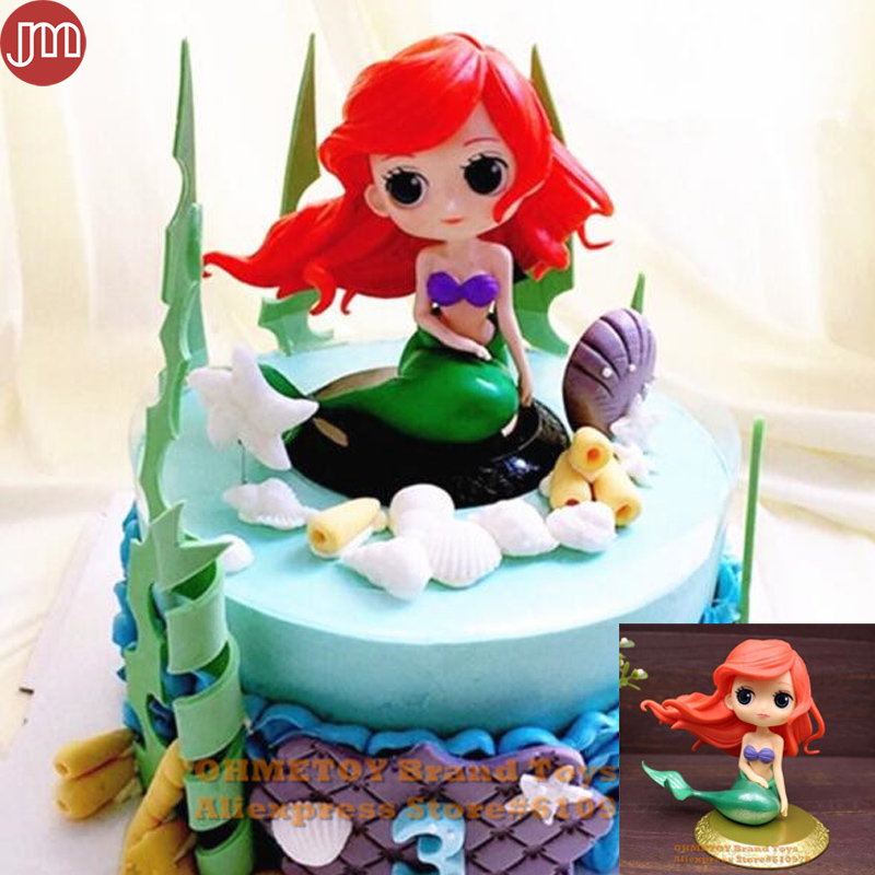 Pleasing Ohmetoy Little Mermaid Banpresto Princess Figure Toy Ariel Cake Personalised Birthday Cards Bromeletsinfo
