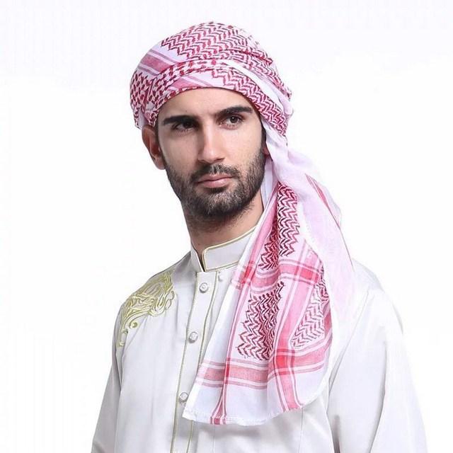 muslim hats headwear for men Arab headscarf Dubai Saudi headscarf HS181 f02df1fa953